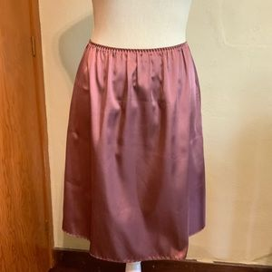 """VINTAGE French Maid 21"""" half slip Size Small"""